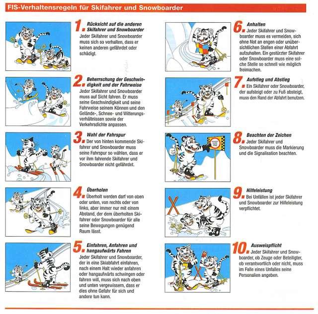 ski regeln